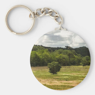 Classic Tuscany Photo Print Keychain