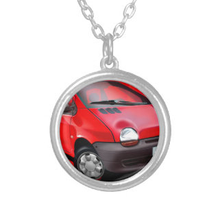 Classic Twingo Silver Plated Necklace