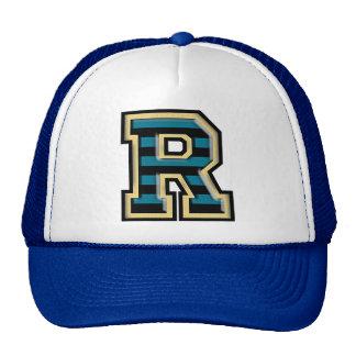 Classic Twist Letter R Trucker Hat