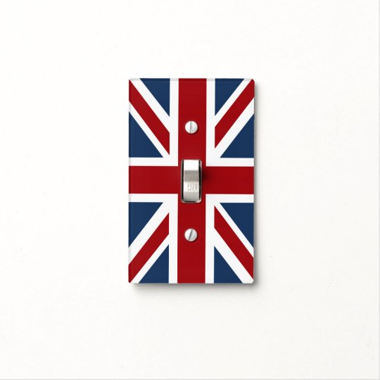 Classic Union Jack Flag Light Switch Cover