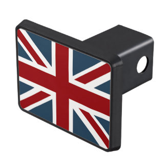 Classic Union Jack Flag Trailer Hitch Cover