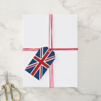 Classic Union Jack UK Flag Gift Tags