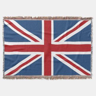 Classic Union Jack UK Flag Throw Blanket
