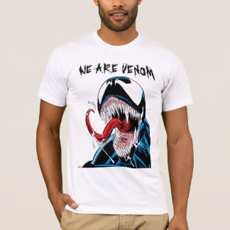 Classic Venom Lashing Tongue Comic Panel T-Shirt