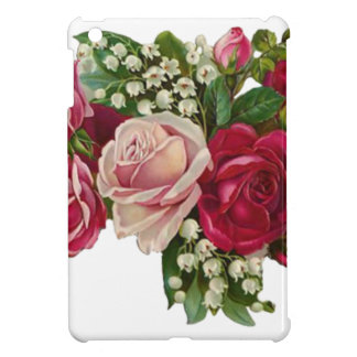Classic Victorian Roses Lily of the Valley Romance iPad Mini Case