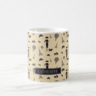 Classic Vintage 50's Fashion Coffee Mug