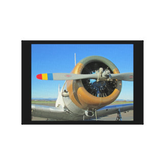 Classic Vintage Aircraft Canvas Print
