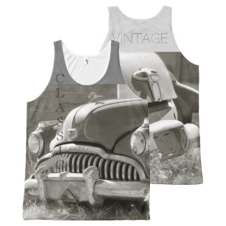 Classic Vintage All-Over-Print Tank Top
