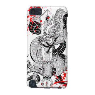 Classic vintage  japanese Blood  Dragon Tattoo iPod Touch (5th Generation) Cover