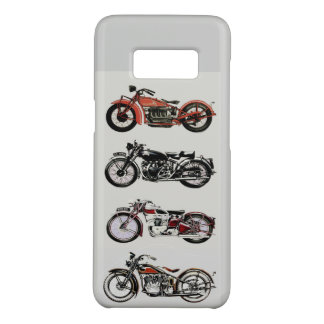 CLASSIC VINTAGE MOTORCYCLES Grey Case-Mate Samsung Galaxy S8 Case