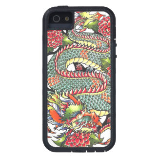Classic vintage oriental japanese Dragon Tattoo iPhone 5 Covers