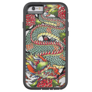 Classic vintage oriental japanese Dragon Tattoo Tough Xtreme iPhone 6 Case