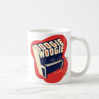 Classic Vintage Retro Boogie Woogie Jazz Mug