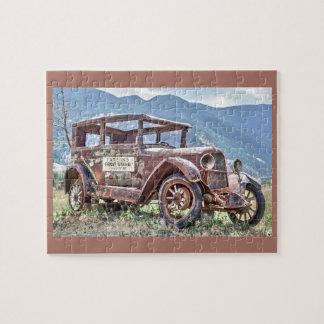 Classic Vintage Station Wagon Puzzle