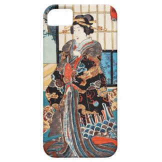 Classic vintage ukiyo-e japanese geisha Utagawa Case For The iPhone 5