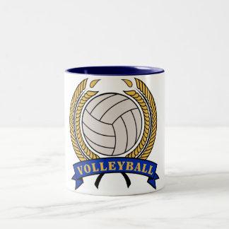 Classic Volleyball design mugs
