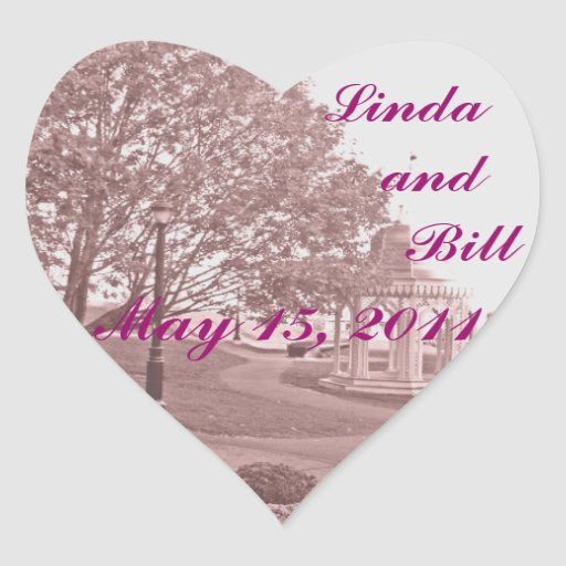 Classic Wedding Memories Sticker / Seal