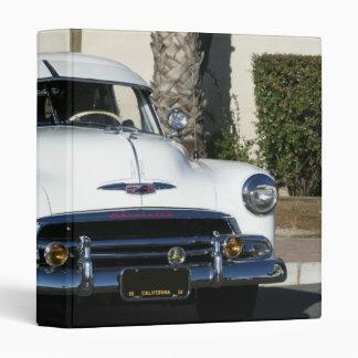 Classic White Car binder