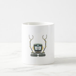 Classic white cup 11 oz with ecological design