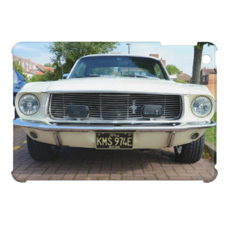 Classic White Ford Mustang Case For The iPad Mini