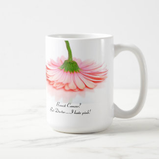 Classic White Mug for Breast Cancer Survivors