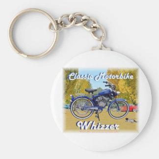 Classic Whizzer Motorbike Keychain
