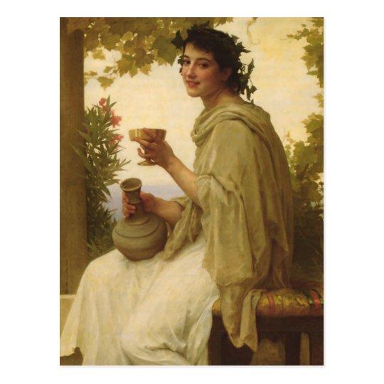 Classic Wine Art Postcard