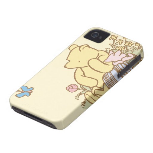 Classic Winnie the Pooh and Piglet 1 Case-Mate iPhone 4 Case