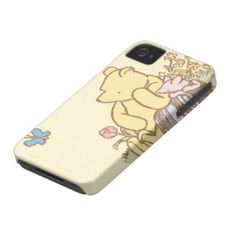 Classic Winnie the Pooh and Piglet 1 iPhone 4 Case-Mate Cases