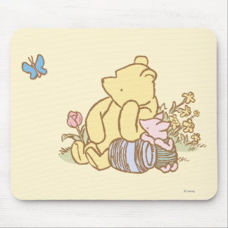 Classic Winnie the Pooh and Piglet 1 Mouse Pad