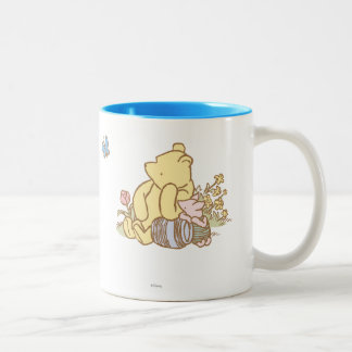 Classic Winnie the Pooh and Piglet 1 Two-Tone Mug
