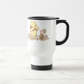 Classic Winnie the Pooh and Piglet 3 15 Oz Stainless Steel Travel Mug