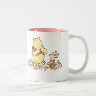 Classic Winnie the Pooh and Piglet 3 Coffee Mug