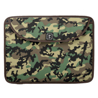 "Classic Woodland Camo MacBook Pro 15"" Sleeve"