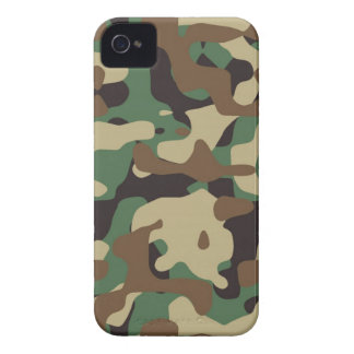 Classic Woodland Pattern Camo Iphone4/4S Cover