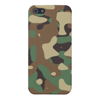 Classic Woodland Pattern Camo iPhone 5 Case