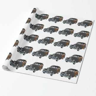 Classic Woody in Black Wrapping Paper
