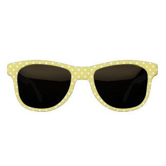 Classic Yellow Polka Dot Sunglasses