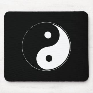 Classic Yin Yang Mouse Pad