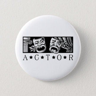 Classical Actor 2 Inch Round Button