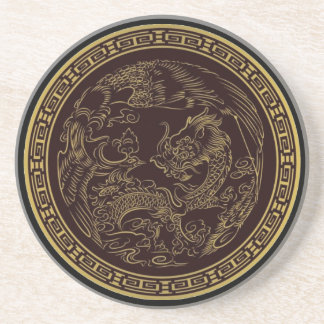 Classical Chinese Dragon Coaster