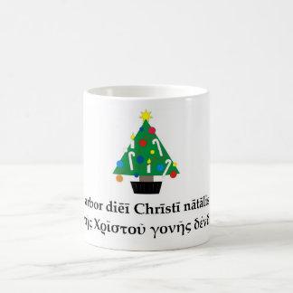 Classical Christmas Tree Mug