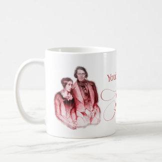 Classical Composer Schumann Coffee Mug