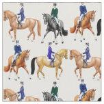 Classical Dressage Horse Equestrian Fabric