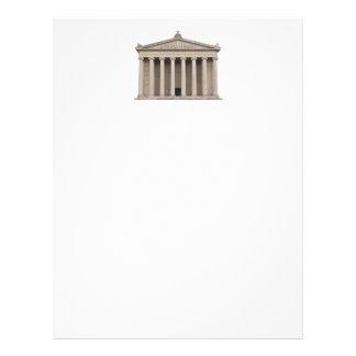 Classical Greek Architecture Custom Letterhead