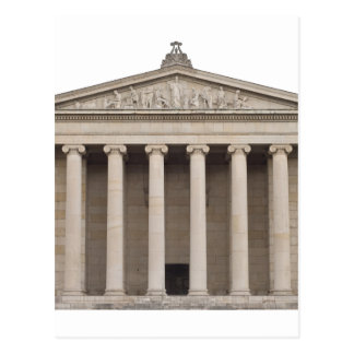 Classical Greek Architecture Postcard