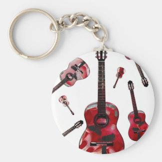 Classical guitar 02.jpg keychain