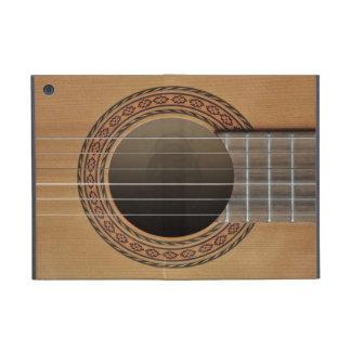 Classical guitar beige tan cases for iPad mini