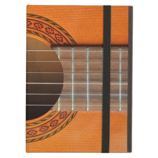 Classical guitar orange tan iPad cases