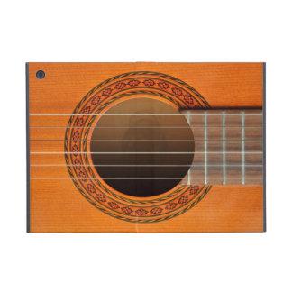 Classical guitar orange tan cover for iPad mini